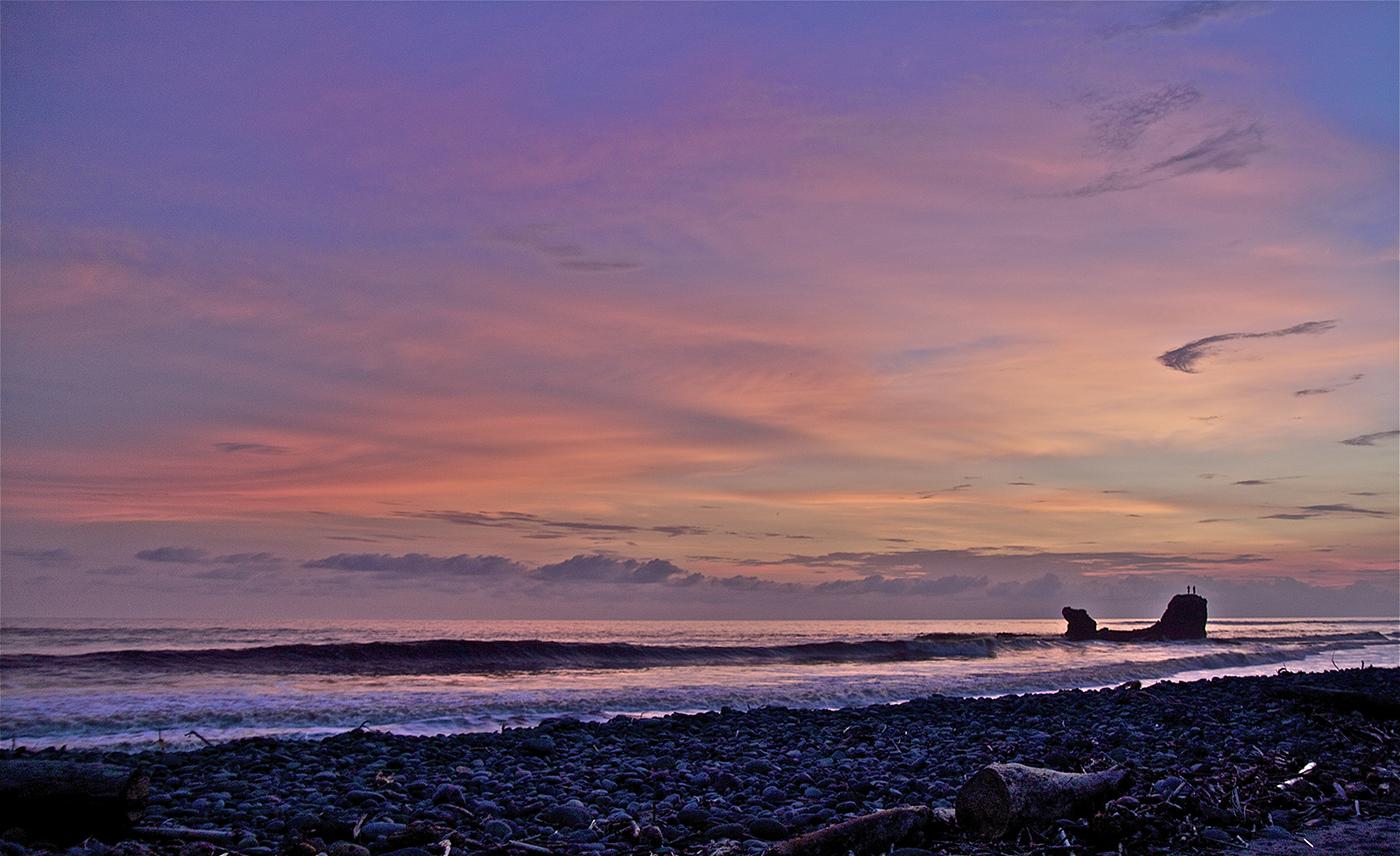 El Tunco sunset