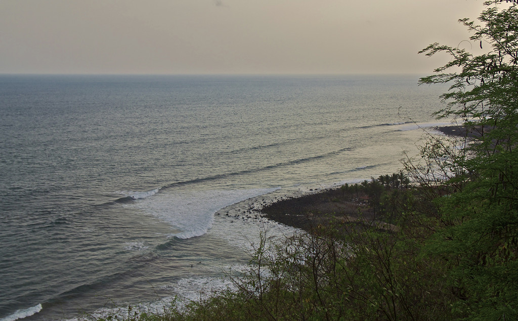 Sunset surf session at KM59 with KM61 in the background