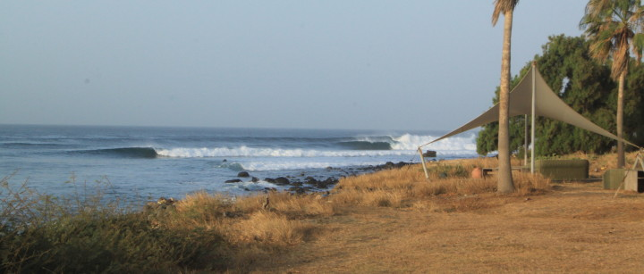 Club Med on a good day and no one out surfing senegal ©thefreesurfer.com