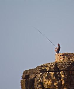 cliff fisherman portugal