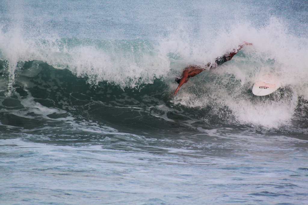 Everyone found some barrels that way. Everyone in his very own way…   thefreesurfer.com