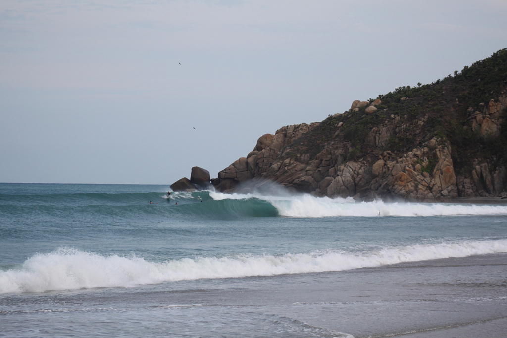 We went down to the beach, and set after set came in. Some waves ridden, others empty, but all of them flawless  thefreesurfer.com