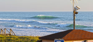 Perfect peak in El Palmar during my winter surf trip a few years ago @thefreesurfer.com