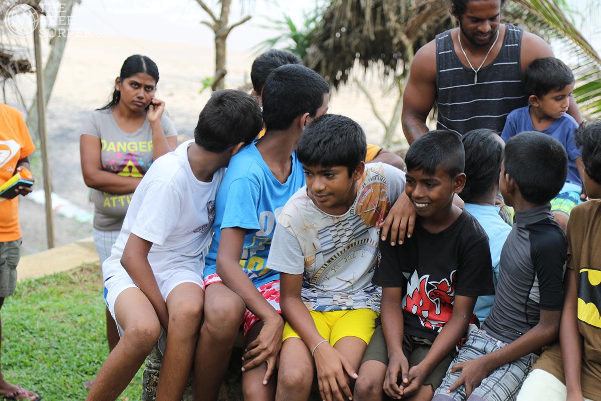 Surf Kids Club Meddawatta Sri Lanka thefreesurfer.com