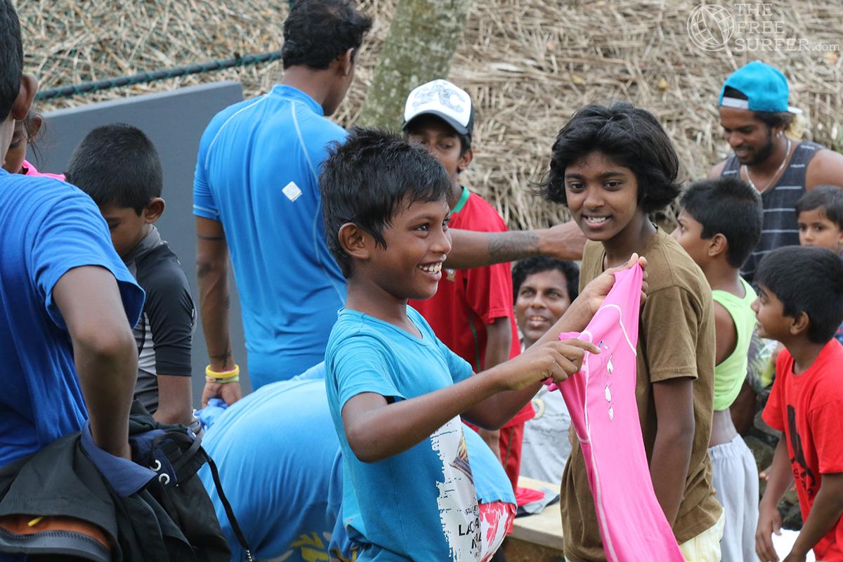 Surf Kids Club Meddawatta Sri Lanka ©thefreesurfer.com