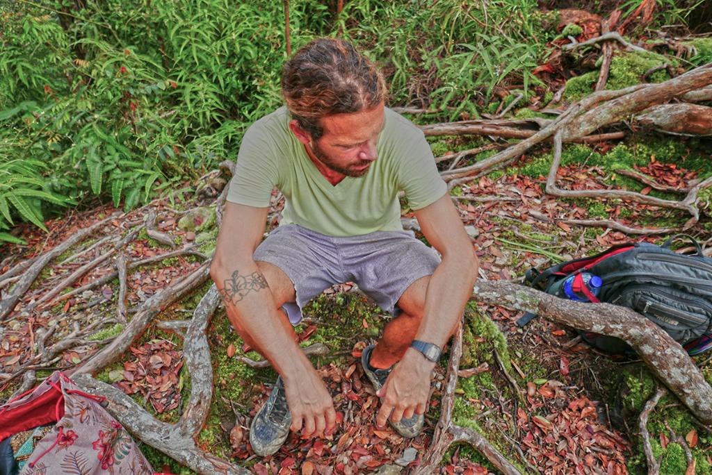 Bukit Lawang jungle trek thefreesurfer.com exhausting