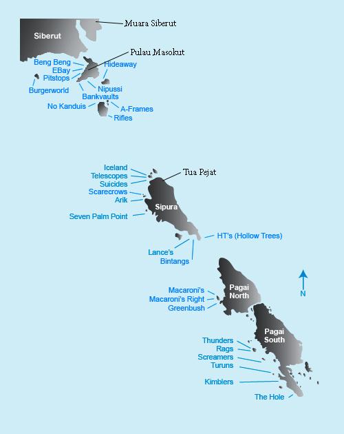 Mentawai map thefreesurfer.com
