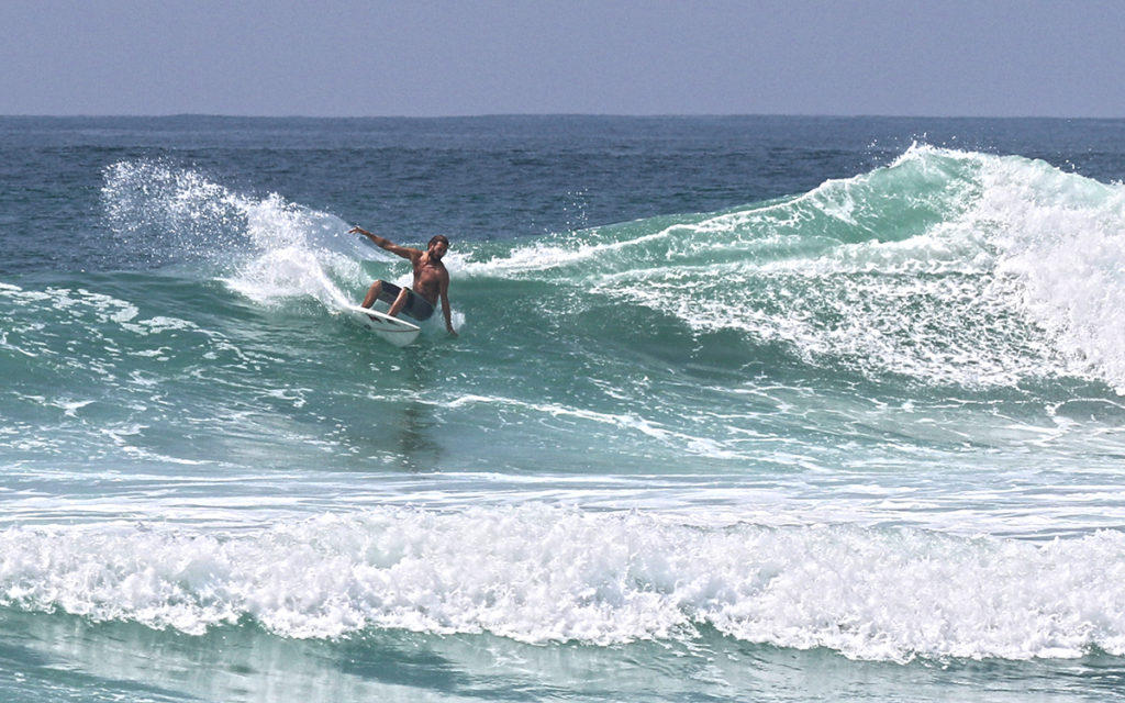 Pascal Christen Surfing Sri Lanka with Semente