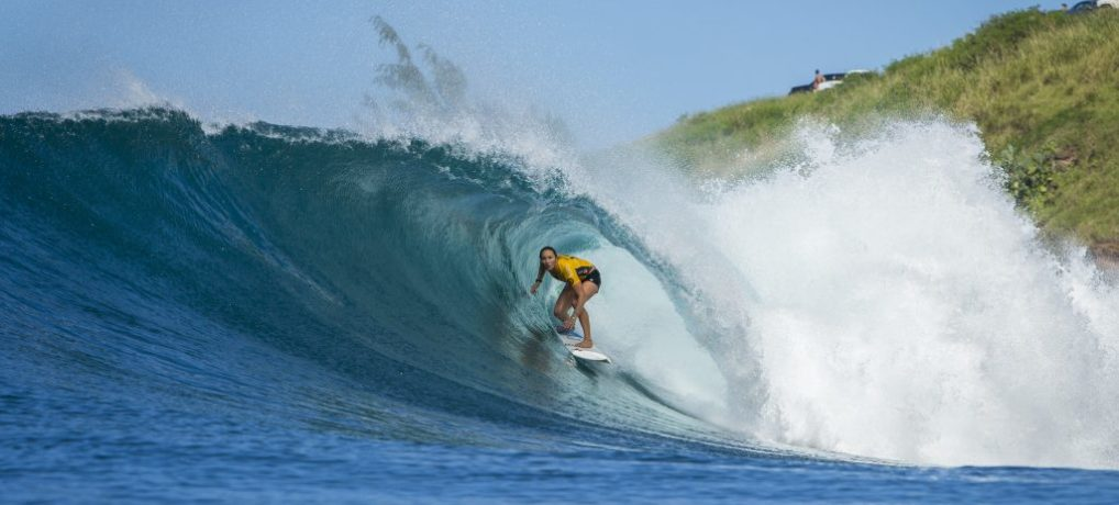 Fact! Following the Women's World Tour of surfing, is at least as exciting as the guys tour!