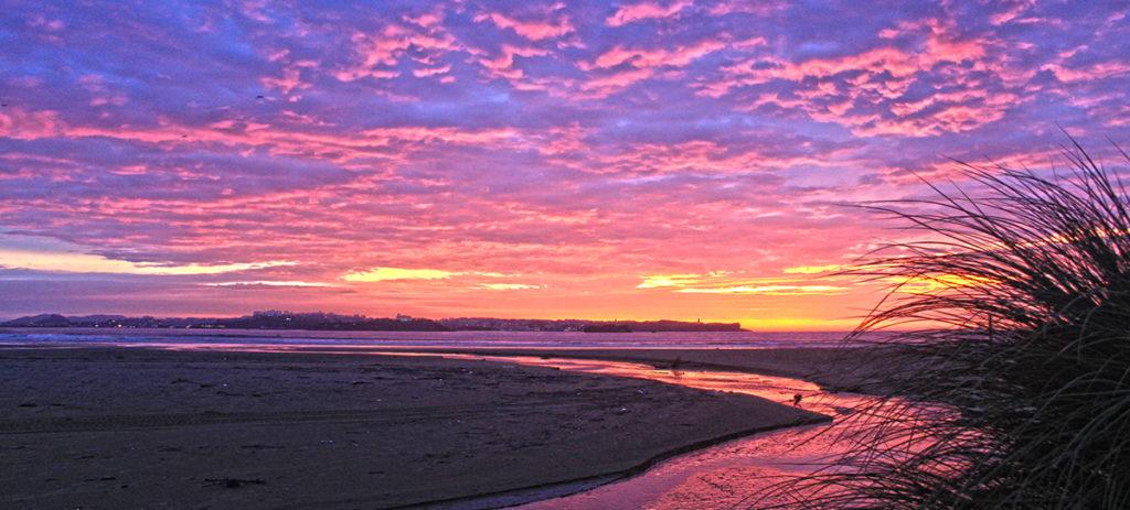 laredo sunset winter surf trip ©thefreesurfer.com