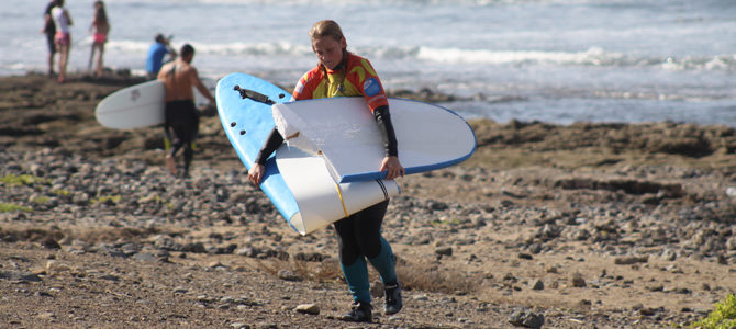 All beginnings are difficult. Learn how to surf