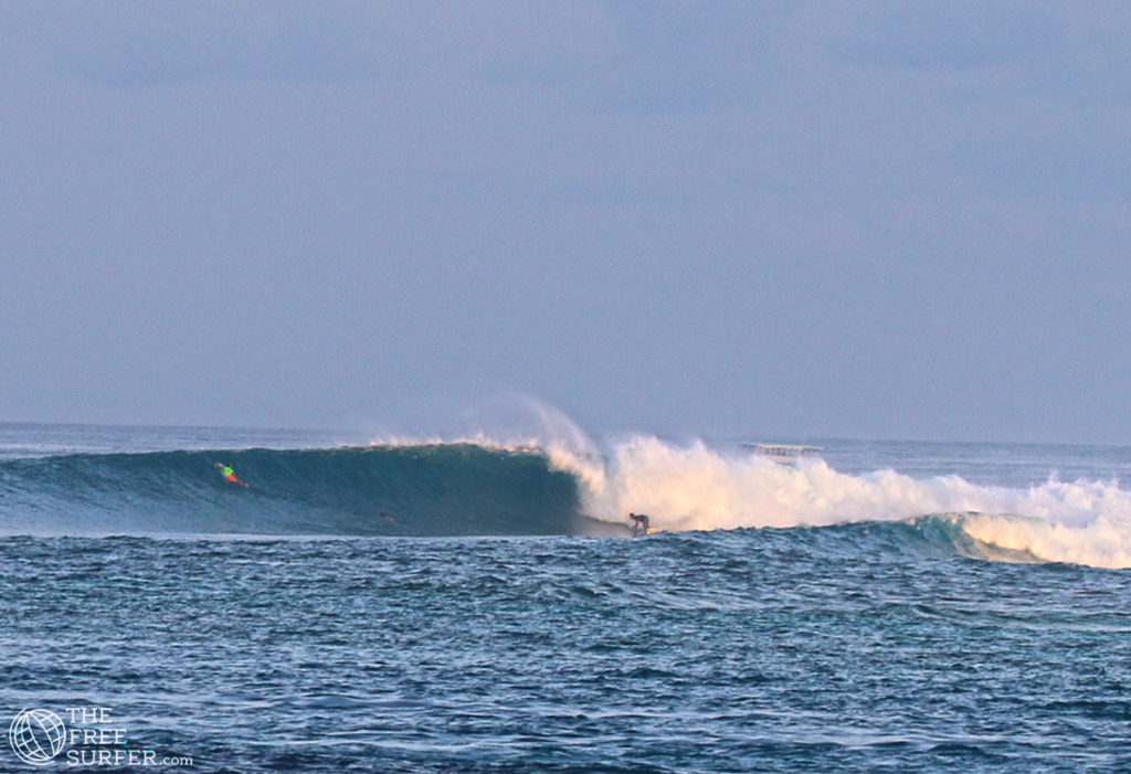 Big day Jailbreak. Great surfing in the maldives
