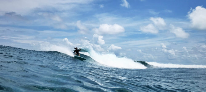 How to surf a twin fin