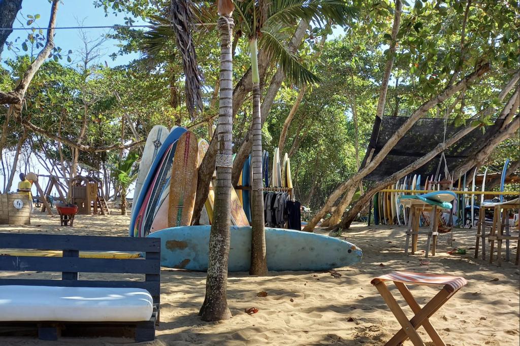 Playa encuentro, Cabarete, Surfboard rental